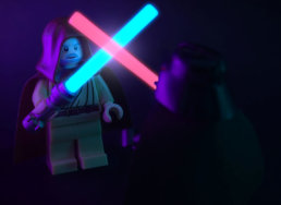 Lego Obi Wan y Darth Vader