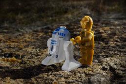 Lego C3PO y R2D2