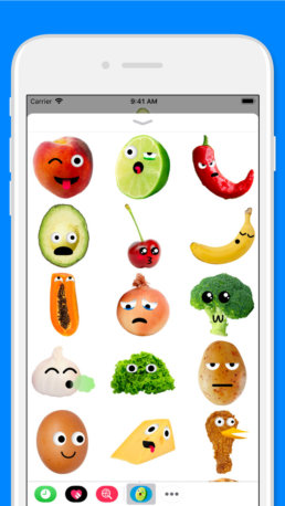 Food Lovers Stickers 2